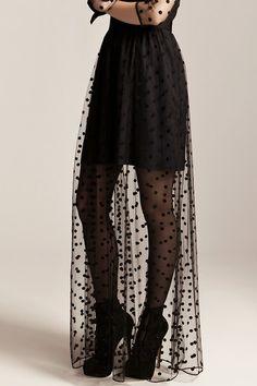 Alice by Temperley f/w 2013 #style #fashion #black