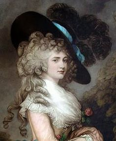 Georgiana Cavendish, the Duchess of Devonshire and her fabulous hat creation