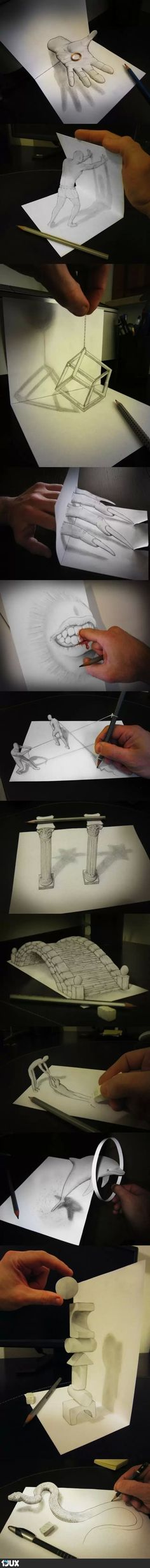 Some Awesome People (3D Drawings)