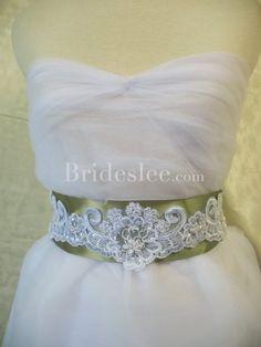Cheap Formal Satin Wedding Bridal Ribbon Sash with Applique - $39.68 : Wedding Dresses,Cheap Wedding Dresses,Wedding Dresses Online,Wholesale Wedding Dresses, Cheap Discount Wedding Dresses Online Wholesale Shopping