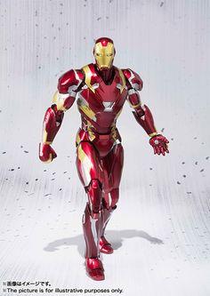 ToyzMag.com » S.H.Figuarts Iron Man Mark 46 – Captain America : Civil War