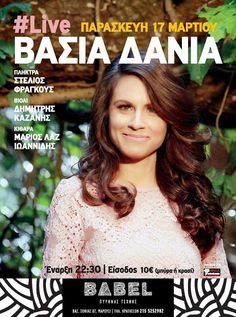 Βάσια Δανιά live @ BABEL