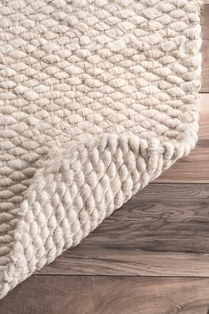 Bring the rustic and natural look to your space with this natural shade jute rug. It is handspun, soft and durable with 100 percent natural jute fiber, and ribbed construction that adds texture and dimension to any indoor setting. Jute Rug, Woven Rug, Rectangle Area, Buy Rugs, Rugs Usa, Natural Rug, Round Rugs, Contemporary Rugs, My Living Room