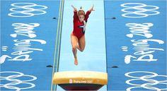 Shawn Johnson vault 2008 Beijing Olympics! #shawnjohnson #gymnastics #vault #olympics