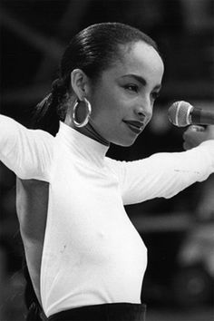 Sade - saw her in the 80's at The Apollo in Manchester - front row - amazing!