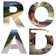 On The Road A Family Road Trip Survival Guide ❤ liked on Polyvore featuring words, text, quotes, backgrounds, filler, phrase and saying