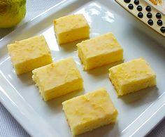 Brownie de limon