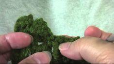 Cuadraditos diagonales a crochet