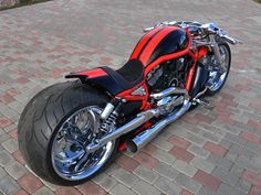'09 Harley-Davidson VRSCAW Supercharged | Fredy.ee