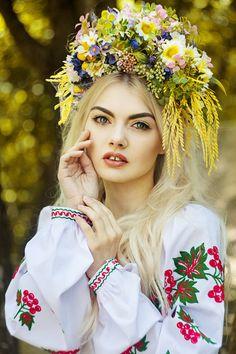 Summer wreath, Flower Headdress, Flower Crown, Flower Headpiece, Head…
