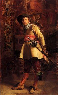 Jean-Louis Ernest Meissonier (Jean Louis Ernest Meissonier), Musketeer