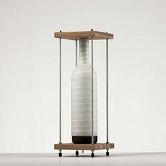Wine Bottle Lamp by John Meng: In Light of Duchamp