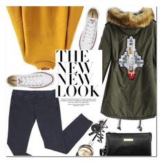 """""""The New Look"""" by oshint ❤ liked on Polyvore featuring Converse and Chanel"""
