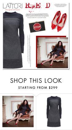 """LATTORI designer dresses"" by helenevlacho ❤ liked on Polyvore featuring Lattori, Anya Hindmarch, Whiteley and lattori"