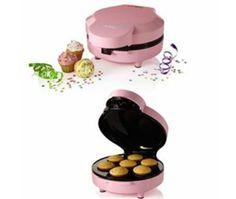 Sunbeam FPSBCMM901 Mini Cupcake Maker, Pink. LOVE THIS!