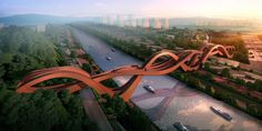 This Is An Actual Design For A Bridge In China