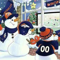 Snowmen love the Broncos too! Denver Broncos Football, Go Broncos, Bears Football, Broncos Fans, Football Memes, Manning Football, Nfl Memes, Football Stuff, Football Baby