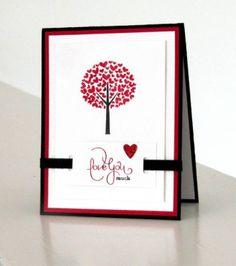 Handmade Valentine's Day Card using