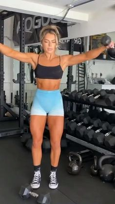 Body Workout At Home, Gym Workout Tips, Fitness Workout For Women, Workout Challenge, Workout Videos, Full Body Workouts, Fitness Inspiration Body, Shoulder Workout, Wellness Fitness