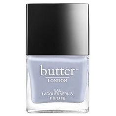 Cool toxin free Butter London nail lacquers and polish provide luxury colors and green treatments for nails Best Nail Polish, Glitter Nail Polish, Nail Polish Colors, Simple Nails Design, Nail Design Spring, Opal Nails, Pink Nails, Butter London Minted, Nail Lacquer