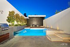 OFTB Architects, transparent pool