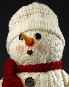 Tutorial..Repurpose socks, stockings & sweaters to make these Darling Snowman crafts   Crafts 'n Coffee....♥