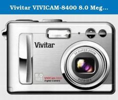 Vivitar VIVICAM-8400 8.0 MegaPixel Camera with 3x Optical Zoom and 2.0 Inch TFT LCD. This new high-resolution (3264 x 2448) camera has both internal memory (16MB) and an optional external SD card memory up to 1GB. With a 3x optical zoom users can photograph their subjects from a distance with great success. The 4 mode flash provides red eye reduction as well as flash on/flash off and auto function. Take the ViviCam 8400 to any party or event for lasting memories of fun times with friends…