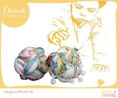 Nähanleitungen Baby - Nähanleitung Greifball Patchwork Ball - ein Designerstück von frauscheinerebooks bei DaWanda