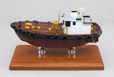 """A recenlty completed 22"""" tug boat model"""