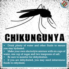 Suffering from #Chikungunya? Keep yourself hydrated! #KeepDrinking #HealthSolutions
