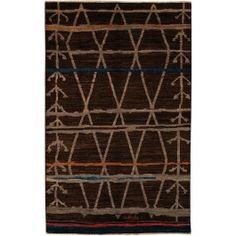 New Contemporary Pakistan Moroccan 65359 - Area Rug area rug