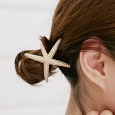 Vintage Solid Color Starfish Women's Elastic Hair Band