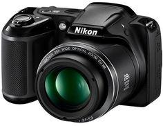 COOLPIX L340 20 Megapixel, 28x Optical Zoom, 3.0 Inch LCD, HD Video Digital Camera - Black *FREE SHIPPING*