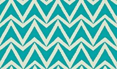 Dhurrie (110456) - Scion Wallpapers - A simple chevron with a textured edge. Shown here in topaz blue colouring - more colours are available. Please request a sample for true colour match. Paste-the-wall product. Actual pattern repeat is 10.2cm.