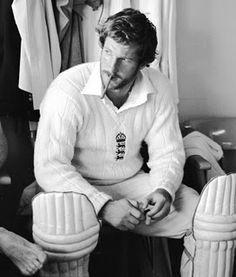 Ian #Botham. #cricket. #TheAshes #cigar #smoking