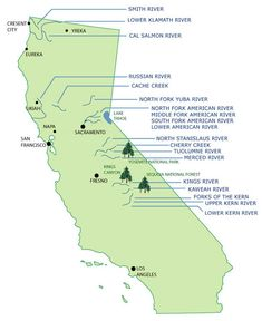 California Whitewater Rafting and Kayaking
