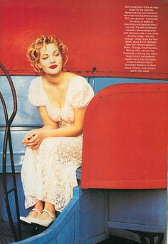 Drew Barrymore, Vogue June 1993