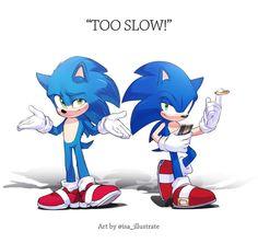 Sonic The Hedgehog, Hedgehog Movie, Hedgehog Art, Shadow The Hedgehog, Sonic Funny, Sonic 3, Sonic And Amy, Sonic And Shadow, Sonic Fan Art