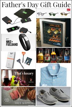 Father's Day Gift Guide 2014 - A list of 10 great Father's Day gift ideas to make it easier for you to pick the perfect gift! #Gifts4Dad #FathersDayGifts2014