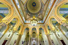 A breathtaking scene of Jumeirah Grand Mosque Interior, Dubai