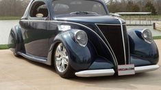 1937 Lincoln Zephyr presented as Lot at Indianapolis, IN Lincoln Zephyr, Street Performance, Lead Sled, Vintage Air, Air Ride, Hot Rods, Auction, Ford, Trucks