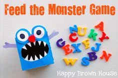 """Monster Games, art, fingerplays, activities """"If You're Monster and you know it"""" and other monster books:  Totally Tots: Once Upon a Book"""