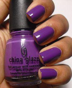 Addicted to Polish: China Glaze Grape Pop
