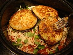 Eggplant Parmesan - Easy recipe!  Made this for dinner tonight and it was yummy!!!  Will make again!