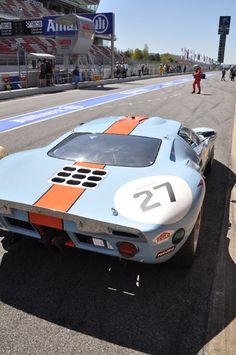 Ford GT-40 LeMans racer & winner.