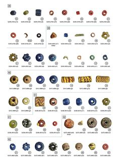 Anglo-Saxon Beads. We love gems, jewelry and history at Renaissance Fine Jewelry in Vermont. www.vermontjewel.com