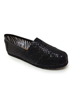 $10 Take a look at this Black Venus Shoe by Little Angel on #zulily today!