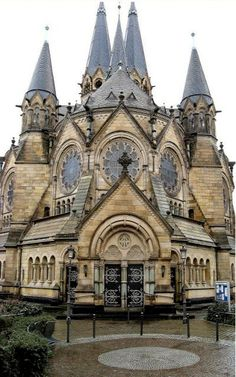 ✵ Travel Pinspirations ✵ *Ringkirche Protestant Church in Wiesbaden, Germany | Flickr - Photo by amras_de