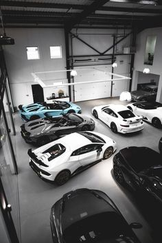 dream cars motivationsforlife: Dream Garage by ECL Luxury Sports Cars, New Sports Cars, Sport Cars, Dream Cars, Garage Interior, Lamborghini Cars, Garage Design, Latest Cars, Car In The World