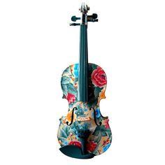Flower violin design